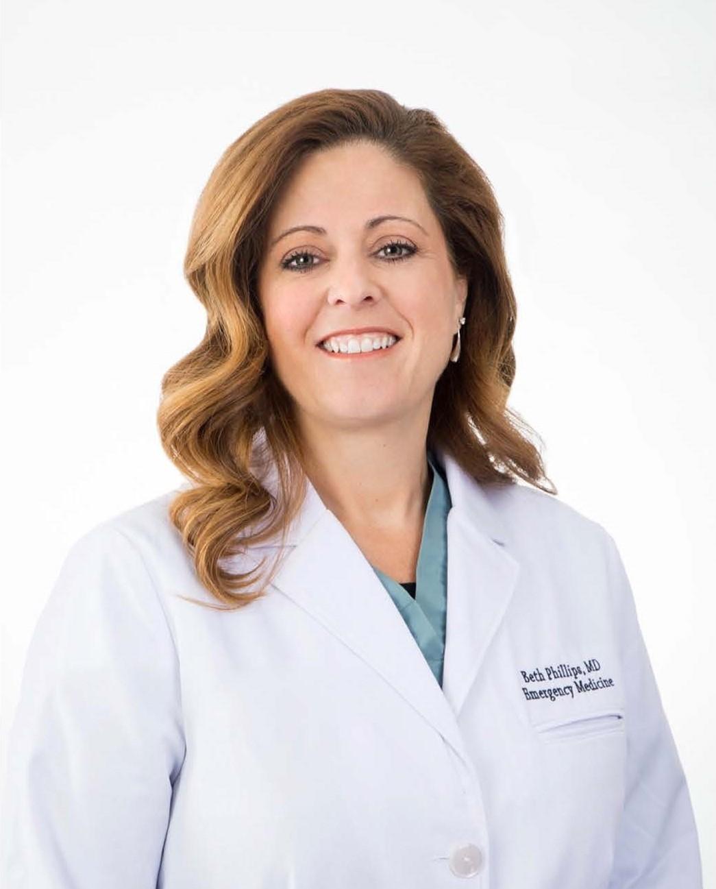 Elizabeth Phillips, MD, FACEP, FAWM